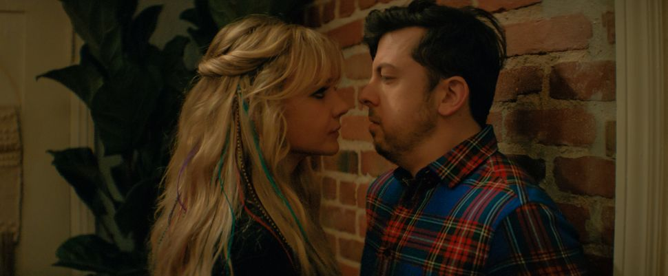 "Mulligan and Christopher Mintz-Plasse in ""Promising Young Woman."""