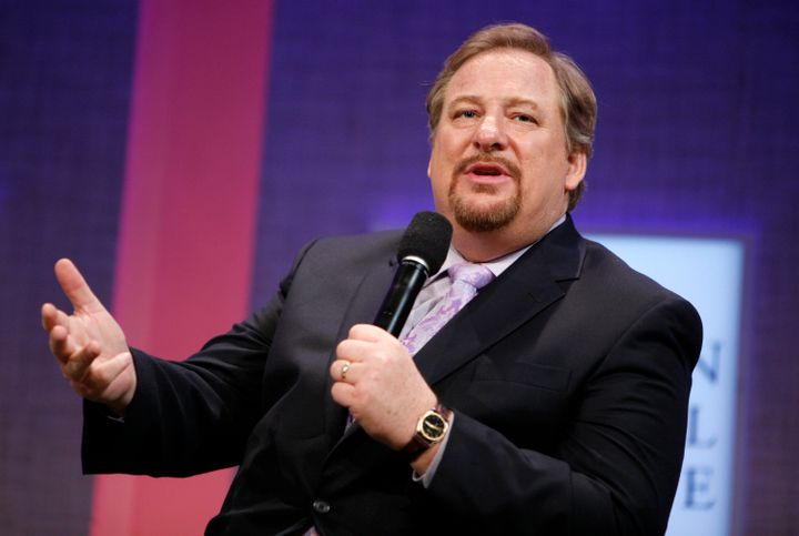 Rick Warren is the pastor of Saddleback Church, a Southern Baptist-affiliated megachurch based in Orange County, California.