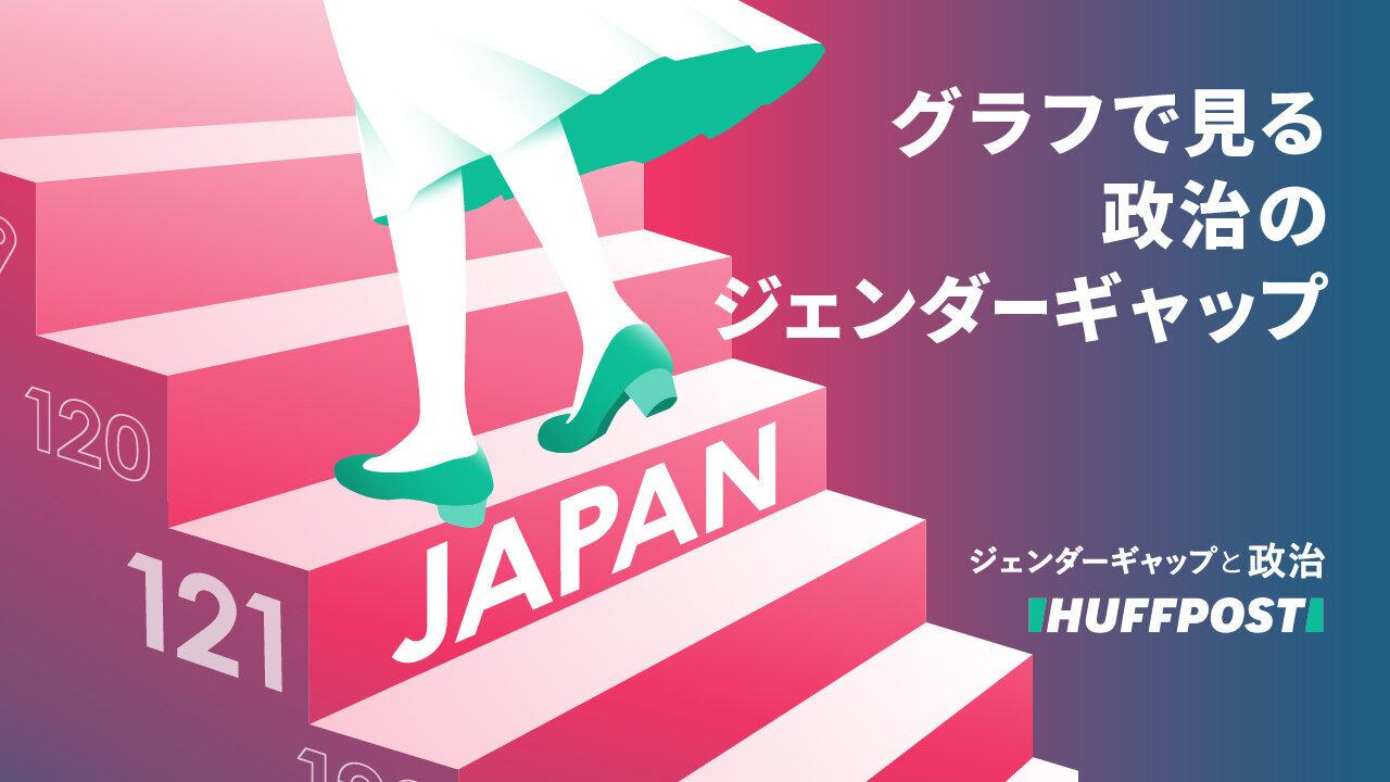 日本のジェンダーギャップ、グラフでみたらこんなに遅れていた