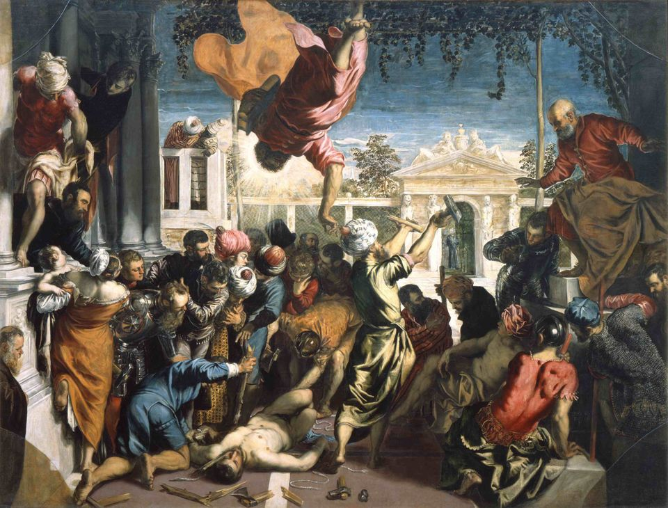 The Miracle of the Slave (The Miracle of Saint Mark). Found in the collection of Gallerie dell' Accademia,...