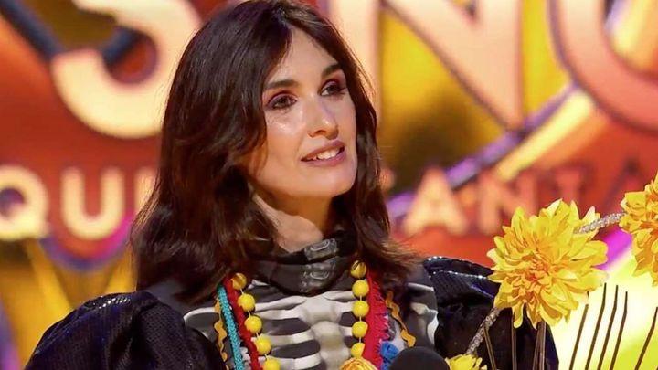 Paz Vega era Catrina en 'Mask Singer' (Antena 3).