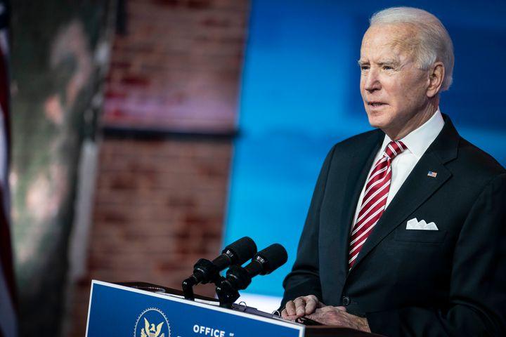 "President-elect Joe Biden said, ""I've spent most of my career arguing against the imperial presidency."""