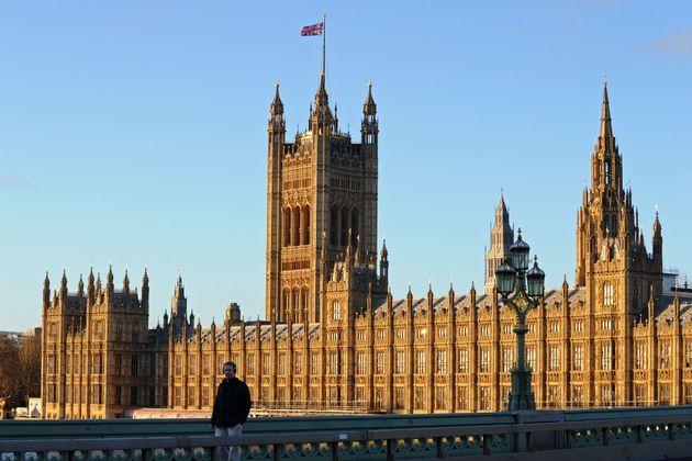 El palacio de Westminster, en