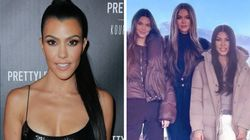 Fans Can't Believe Kourtney Kardashian Isn't 'Photoshopped' In New Family