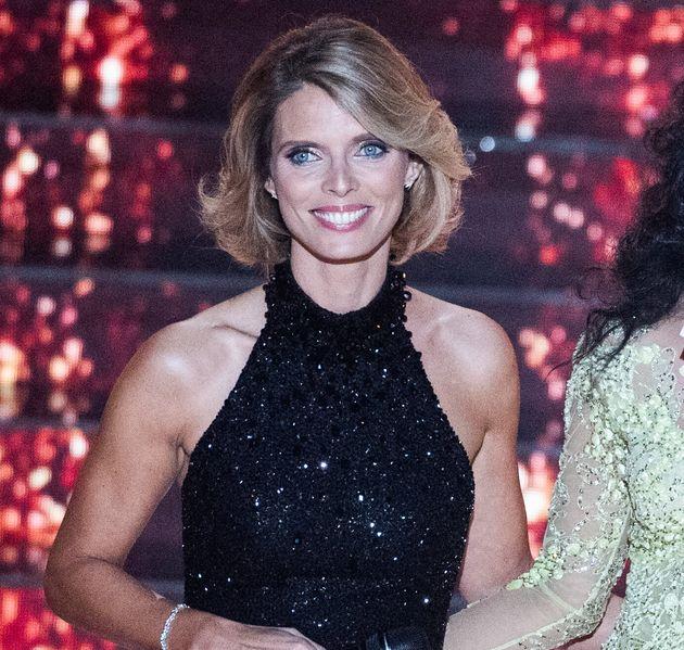 Sylvie Tellier, ici sur scène lors du concours Miss France 2021 au Puy-du-Fou, le 19 décembre