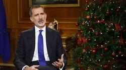 Felipe VI tira de lugares comunes para hablar de la pandemia y pasa de puntillas por la crisis de la Casa