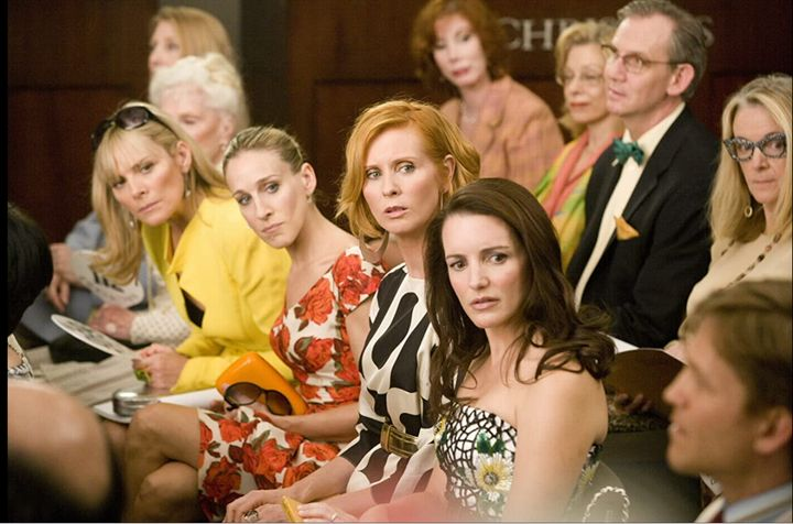"""These are the faces we're making to new of a new """"Sex and the City"""" movie."""