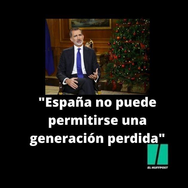 El discurso de Felipe VI, en nueve