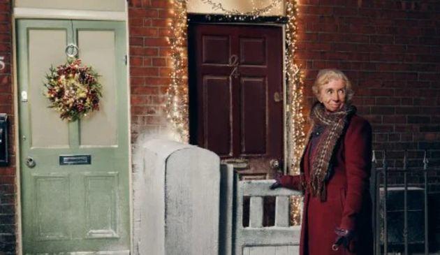 Woodie'sのクリスマスCMの広告画像