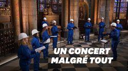 Le concert de Noël 2020 à Notre-Dame de Paris ne ressemble à aucun