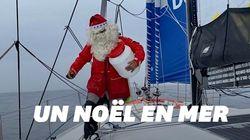 Les skippers du Vendée Globe ont fêté Noël en plein Océan
