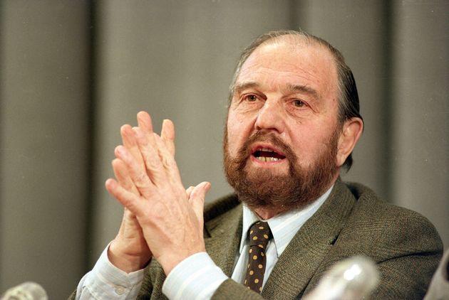 George Blake, célèbre agent double britannique qui espionnait pour le compte du KGB soviétique...