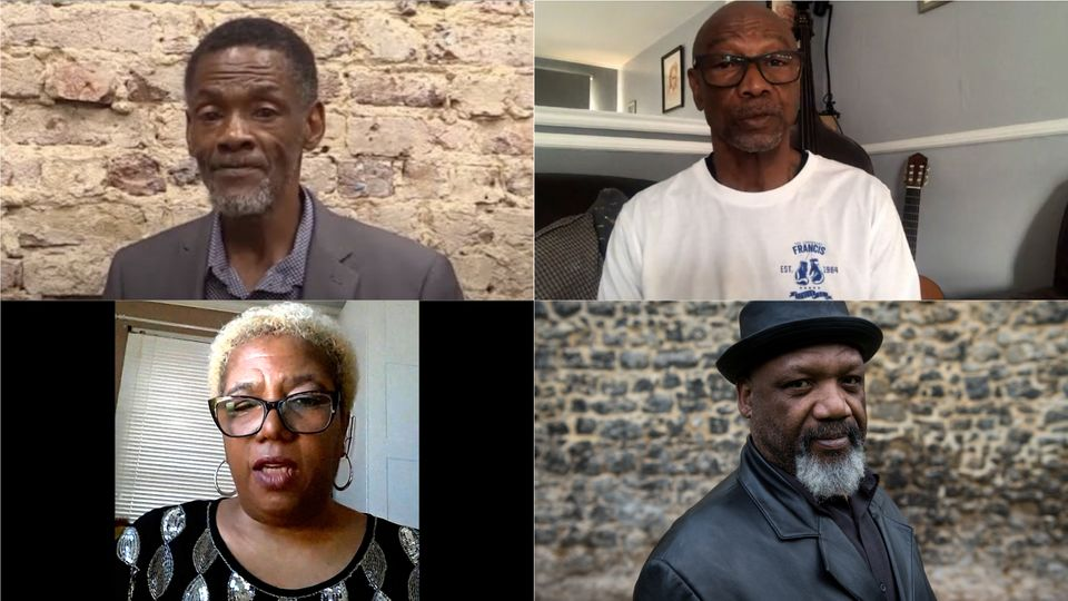 (L-R: Vernon Vanriel, Glenda Caesar, Michael Braithwaite and Elwaldo
