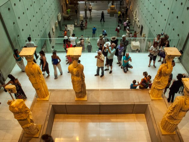 Ψηφιακό Μουσείο Ακρόπολης: Πρόσβαση στα εκθέματα με ένα