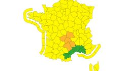 Tempête Bella: 12.000 foyers privés d'électricité, 5 départements en vigilance orange