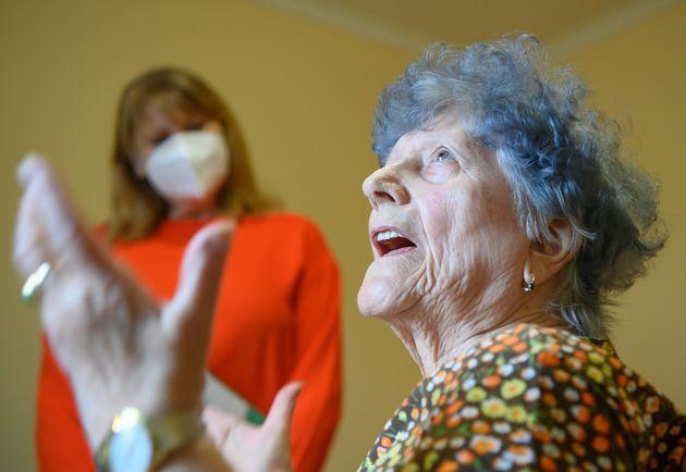 Γερμανία, η Hanna Hertzsch, 85 ετών, που...