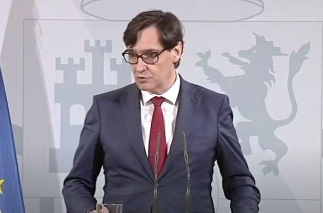 Salvador Illa, ministro de