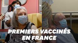 Une femme de 78 ans a reçu le premier vaccin contre le Covid-19 en