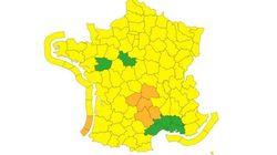 Météo France place 9 départements en vigilance