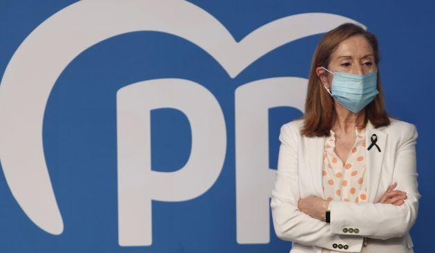 Ana Pastor, portavoz del PP en la Comisión de