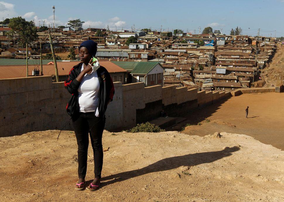 재클린 보시보리, 17세. 중학생. 나이로비, 케냐. 2020년