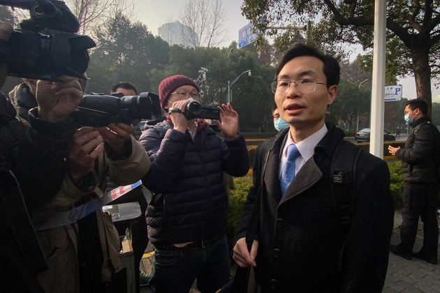 L'un des avocats de Zhang Zhan, Me Zhang Keke, à