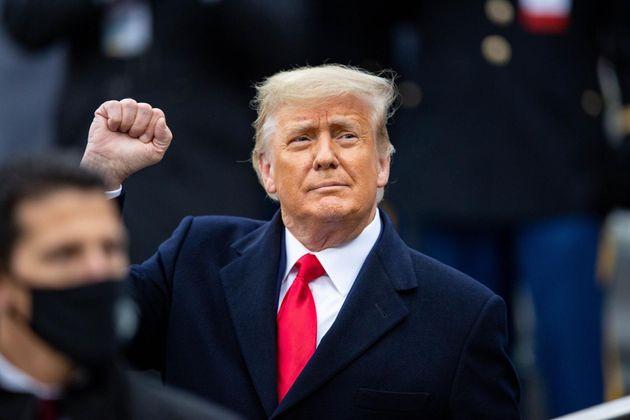 El presidente saliente de EEUU, Donald
