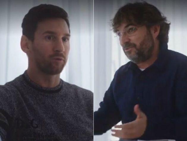 Leo Messi y Jordi