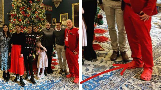 La divertida felicitación de los 'royals' monegascos: atención al príncipe