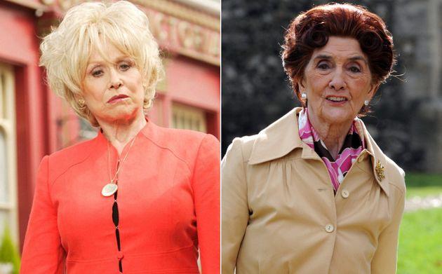 Dame Barbara Windsor and June