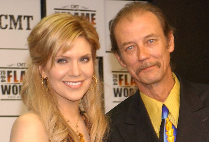 Alison Krauss and Tony Rice during CMT 2004 Flame Worthy Video Music Awards.