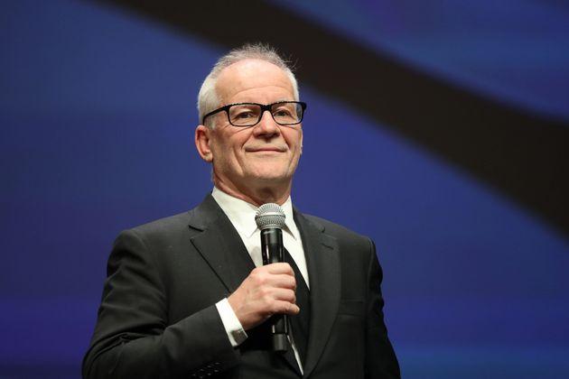 Thierry Frémaux, délégué général du festival de Cannes lors...