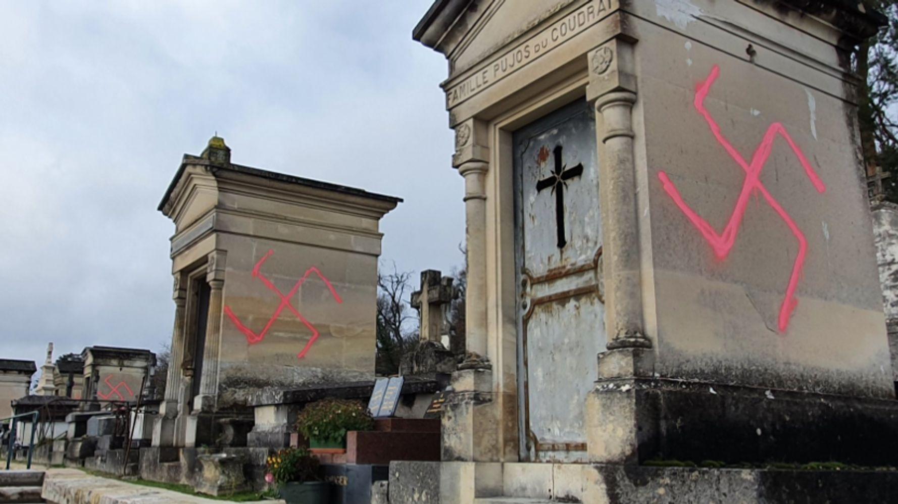 À Fontainebleau, des dizaines de tombes profanées par des croix gammées