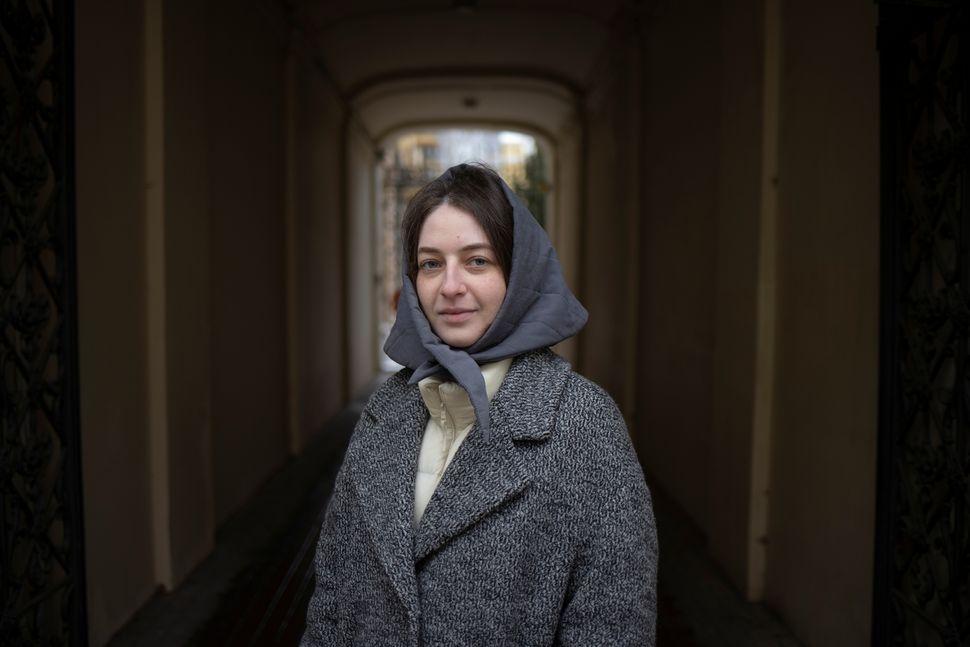 갈리나 악셀로드-골리코파, 23세. 모스크바, 러시아. 2020년