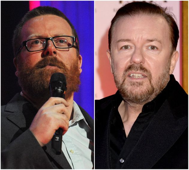 (L-R) Frankie Boyle and Ricky