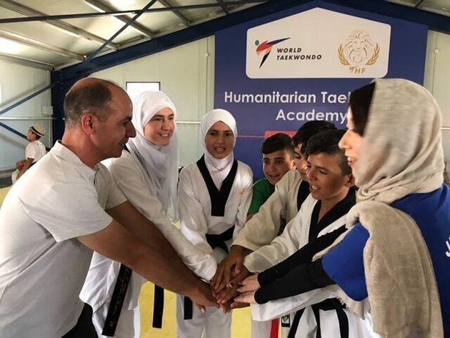 ヨルダン・アズラック難民キャンプの子供たち(2019年8月)