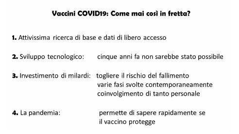 Vaccino Covid, perché così presto? I 4 fattori della grande corsa (di G.