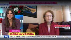 Margarita del Val rectifica públicamente y lanza un mensaje muy poco habitual en