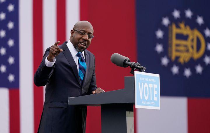 Democrat Raphael Warnock has defeated Sen. Kelly Loeffler (R) to represent Georgia in the U.S. Senate.