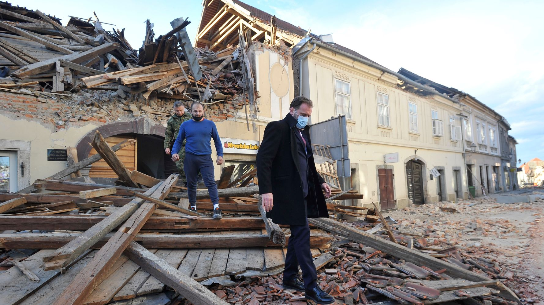 1 Reported Useless After Robust Earthquake Hits Central Croatia Technology Info Sec Technologyinfosec