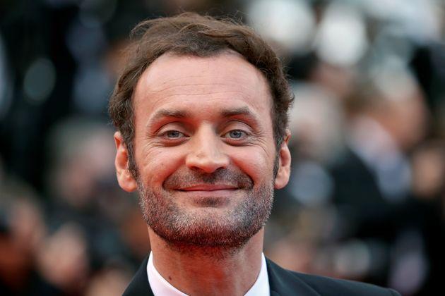 Le journaliste et critique Augustin Trapenard au Festival de Cannes le 15 mai