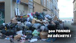 Marseille croule sous les déchets après près de 2 semaines de grève des