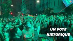 L'Argentine légalise l'avortement, la foule en liesse à Buenos