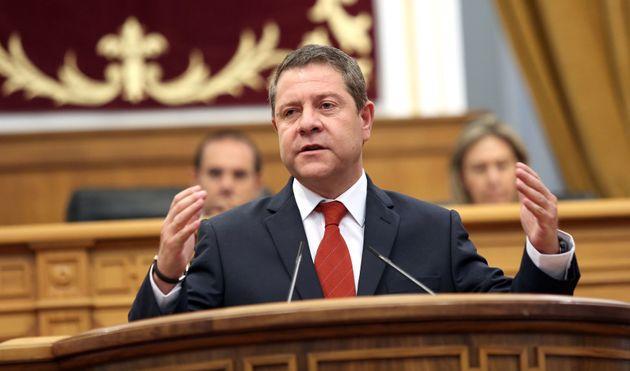 El presidente de Castilla-La Mancha, Emiliano García-Page, en una imagen de archivo en la Cámara