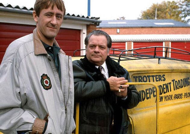 Only Fools And Horses stars Nicholas Lyndhurst and David