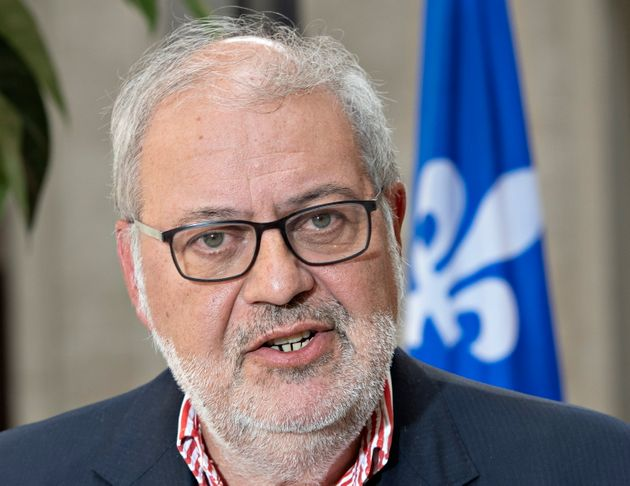 Quebec Liberal Party MNA Pierre Arcand is seen here in Quebec on Aug. 11, 2019. Arcand says he took...