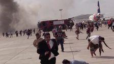Blast At Yemen's Aden Airport Kills At Least 16, Wounds Dozens