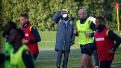 Raymond Domenech a connu un premier entraînement mouvementé à