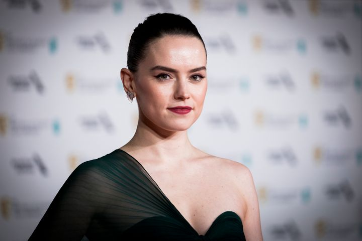 Daisy Ridley attends the EE British Academy Film Awards 2020.