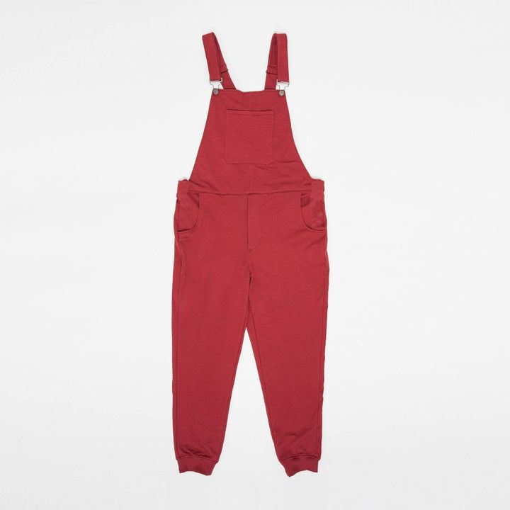 Swoveralls in party red.